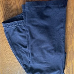 16 W/P Lands' End navy stretchy pants